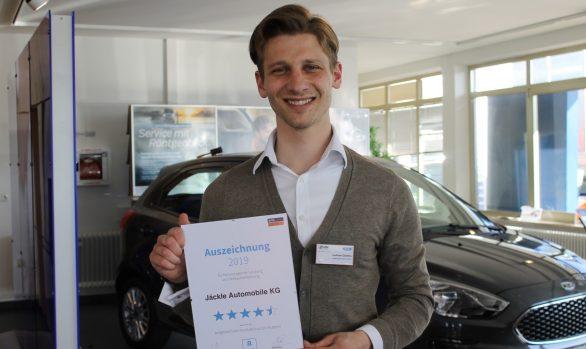 Auszeichnung von den AutoScout24-Nutzern